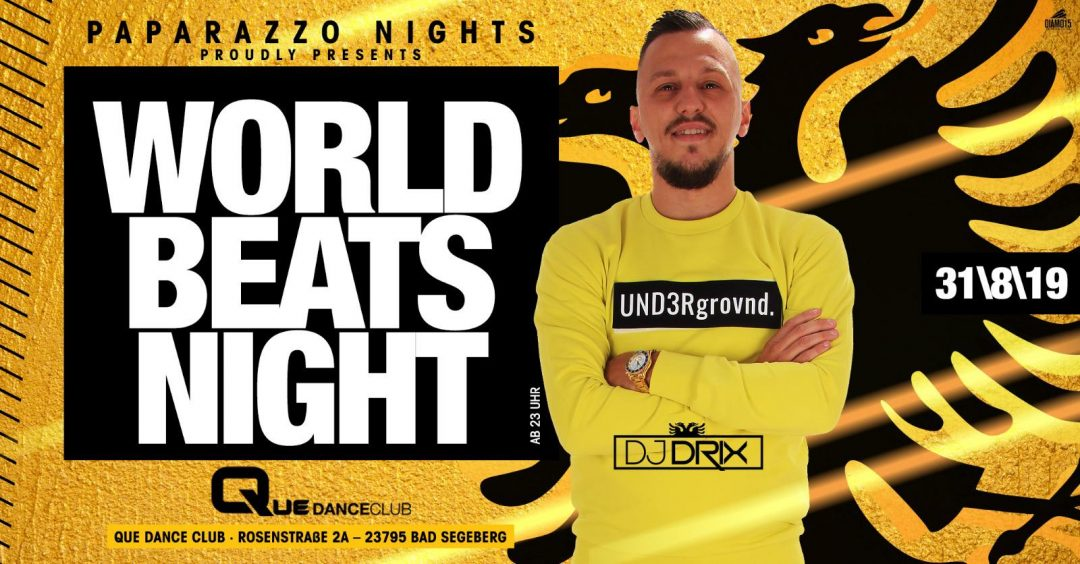 World Beats Night by Paparazzo